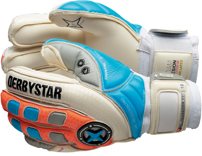derbystar APS PROTECTION PRO TW-Handschuh weiß-blau-orange