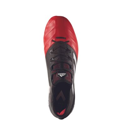 adidas ACE 17.1 LEATHER SG schwarz-rot – Bild 2