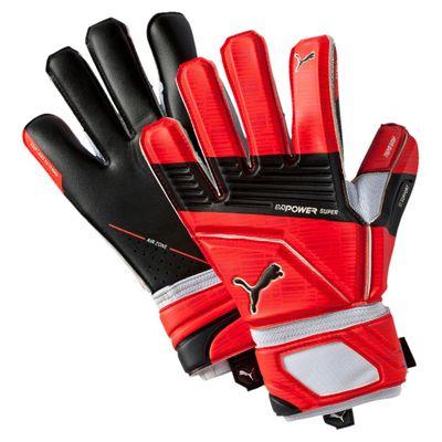 puma evoPOWER Super 3 TW-Handschuh schwarz-rot