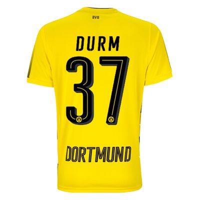 puma BVB BORUSSIA DORTMUND Trikot Home Herren 2017 / 2018 - DURM 37 – Bild 2