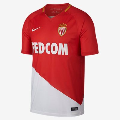 nike AS MONACO Trikot Home Herren 2017 / 2018