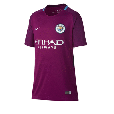 nike MANCHESTER CITY Trikot Away Kinder 2017 / 2018 – Bild 1