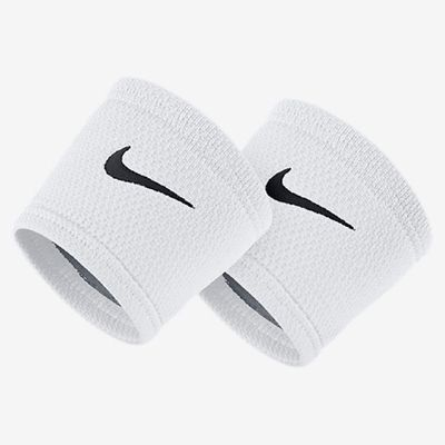 nike DRI-FIT STEALTH WRISTBANDS Schweissband weiss
