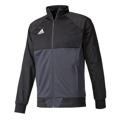 adidas TIRO 17 Trainingsjacke Kinder schwarz – Bild 1