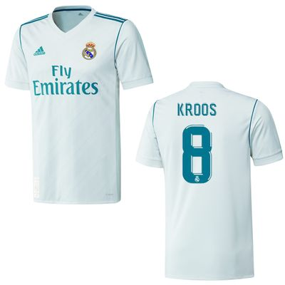 adidas REAL MADRID Trikot Home Kinder 2017 / 2018 - KROOS 8 – Bild 1