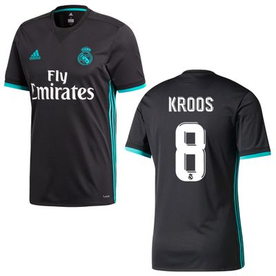 adidas REAL MADRID Trikot Away Herren 2017 / 2018 - KROOS 8 – Bild 1