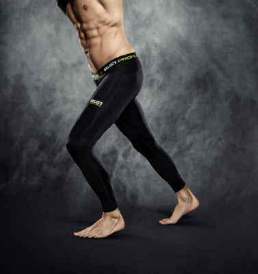 select COMPRESSION TIGHTS Herren schwarz