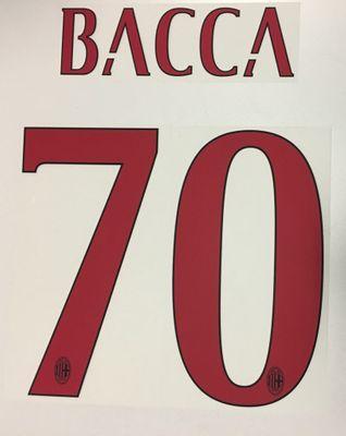 Original AC Mailand Trikot-Flock 25cm - BACCA 70