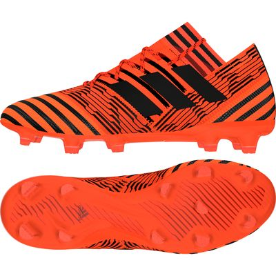 adidas NEMEZIZ 17.1 FG orange-schwarz