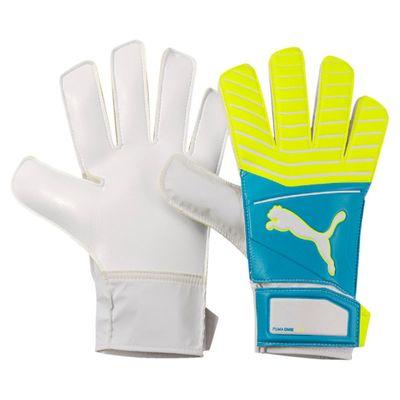 puma ONE GRIP 17.4 TW-Handschuh blau-gelb