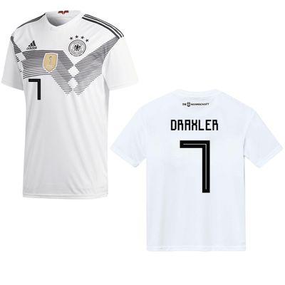 adidas DFB DEUTSCHLAND Trikot Home Herren 2018 / 2019 - DRAXLER 7 – Bild 1