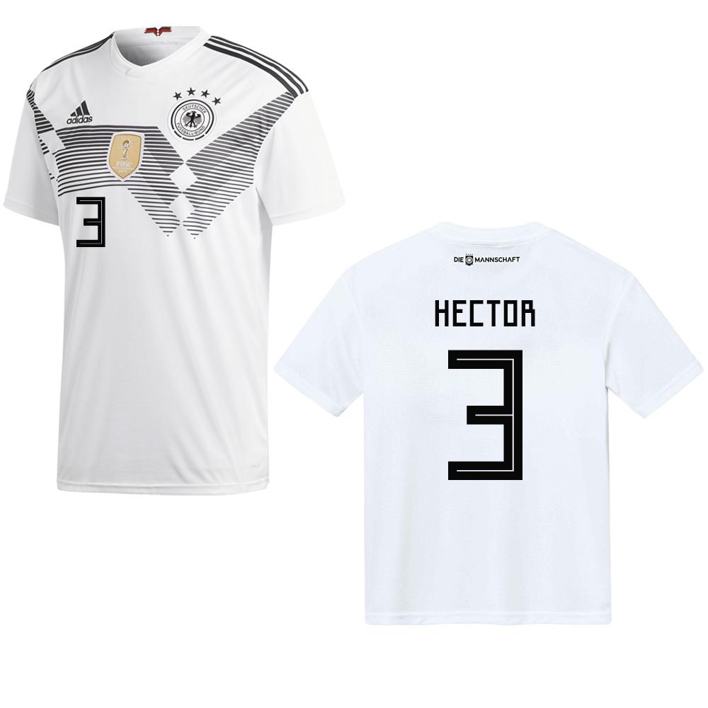 79687525f5fc1d adidas DFB DEUTSCHLAND Trikot Home Kinder 2018   2019 - HECTOR 3 ...