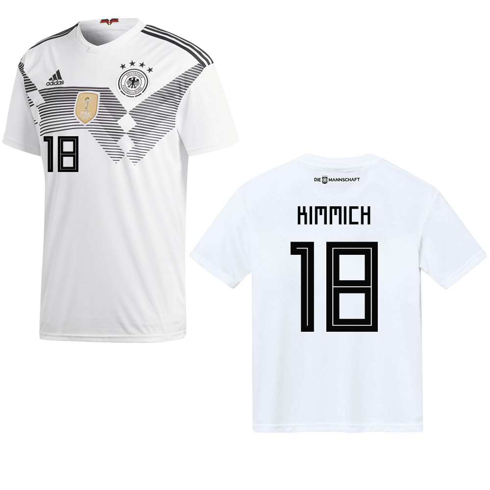 adidas herren dfb heim trikot white black s entsorga. Black Bedroom Furniture Sets. Home Design Ideas