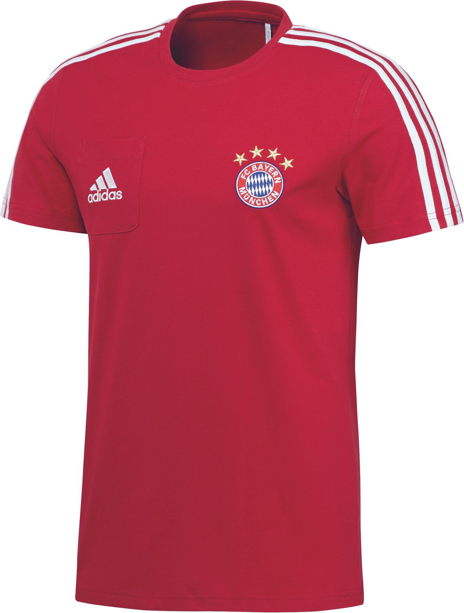 c506e2c4cbd7c4 adidas FC BAYERN MÜNCHEN T-Shirt Herren rot Fantrikots - Fanshop ...