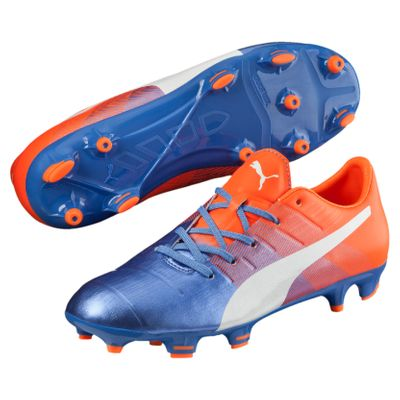 puma evoPOWER 1.3 FG Kinder blau-orange