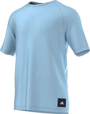 adidas ID GRAPHIC TEE Herren blau – Bild 1