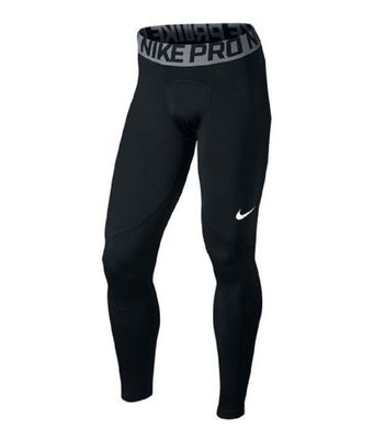 nike WARM TIGHT Kompressionshose Herren schwarz – Bild 1