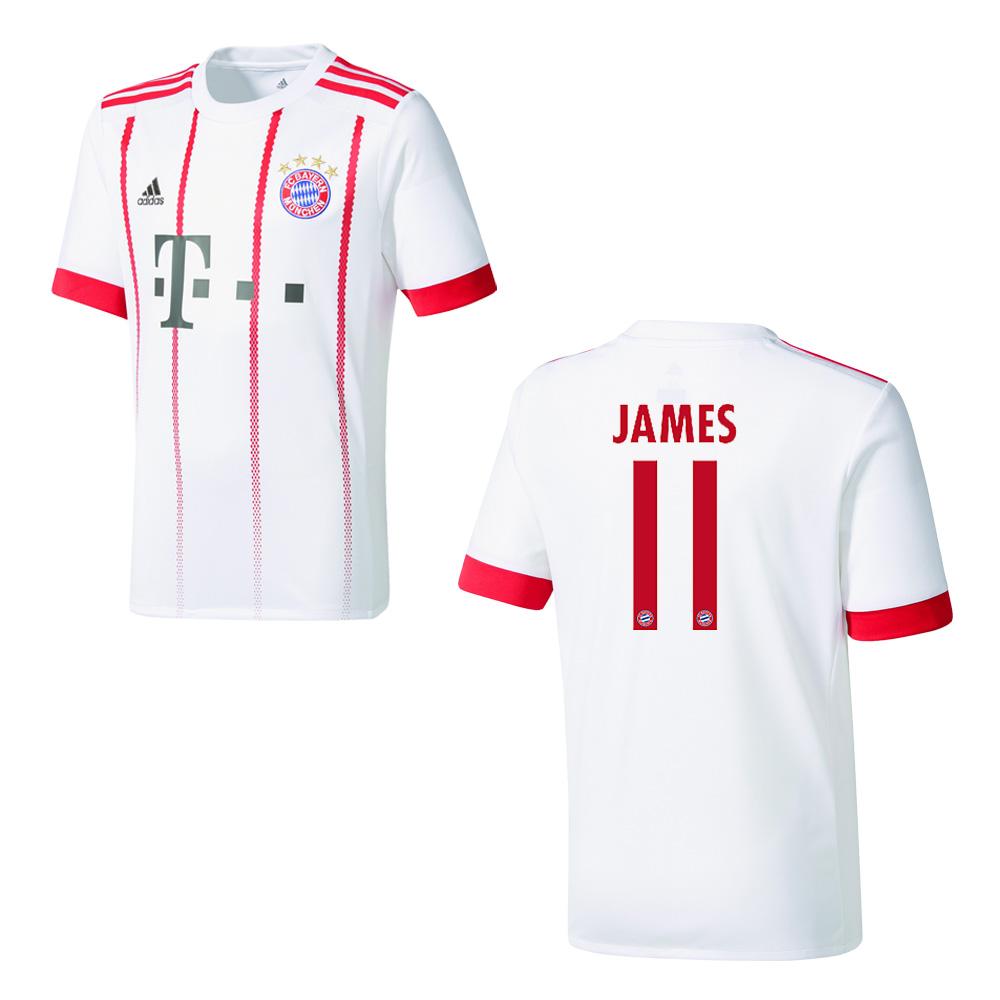 Adidas Fc Bayern München Trikot 3rd Herren 2017 2018 James 11