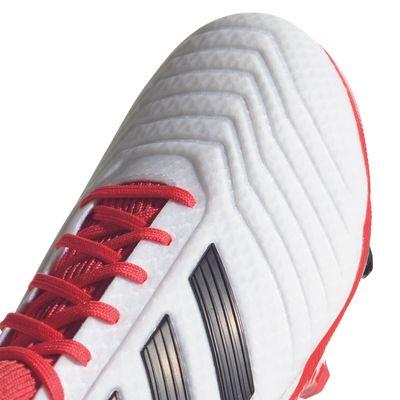 adidas PREDATOR 18.3 FG Kinder weiß-rot-schwarz – Bild 2