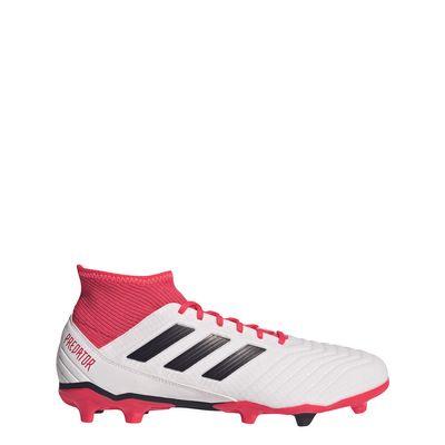 adidas PREDATOR 18.3 FG Kinder weiß-rot-schwarz – Bild 1