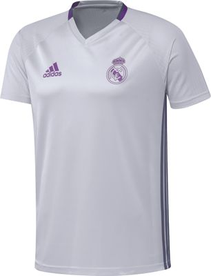 adidas REAL MADRID Trainingsshirt Herren weiß