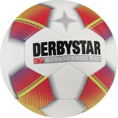 derbystar STRATOS Pro S-Light Gr.4 weiß-rot-gelb