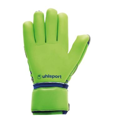 uhlsport TENSIONGREEN ABSOLUTGRIP Finger TW-Handschuh grau-grün-blau – Bild 2