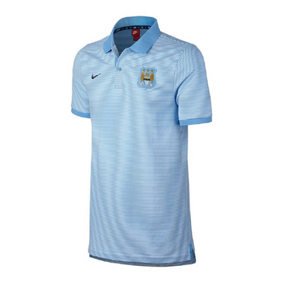 nike MANCHESTER CITY Authentic Poloshirt Herren blau