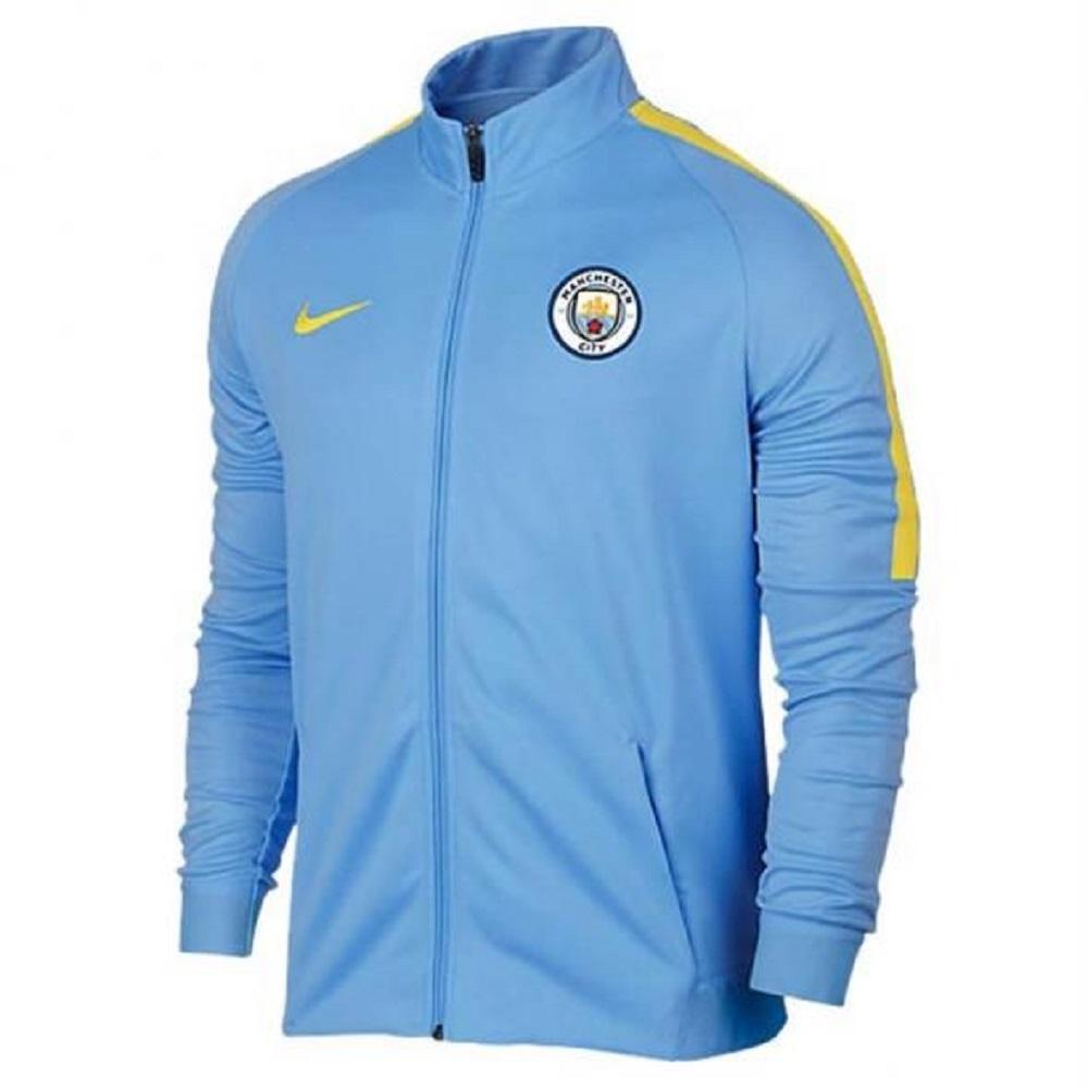 nike MANCHESTER CITY Trainingsjacke Herren blau gelb