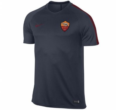 nike AS ROMA Trainingsshirt Kinder blau