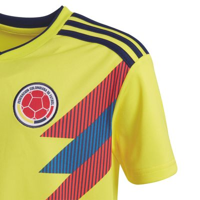 adidas KOLUMBIEN Trikot Home Kinder WM 2018 – Bild 3