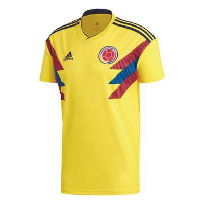adidas KOLUMBIEN Trikot Home Kinder WM 2018 – Bild 1