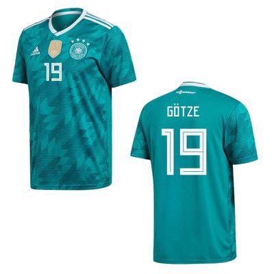 adidas DFB DEUTSCHLAND Trikot Away Herren WM 2018 - GÖTZE 19 – Bild 1