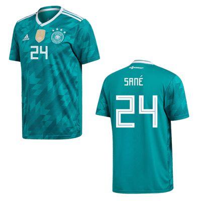 adidas DFB DEUTSCHLAND Trikot Away Herren WM 2018 - SANE 24 – Bild 1