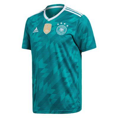 adidas DFB DEUTSCHLAND Trikot Away Kinder 2018 / 2019 - HUMMELS 5  – Bild 3