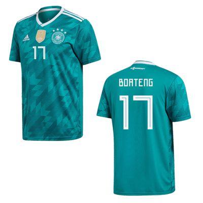 adidas DFB DEUTSCHLAND Trikot Away Kinder WM 2018 - BOATENG 17 – Bild 1