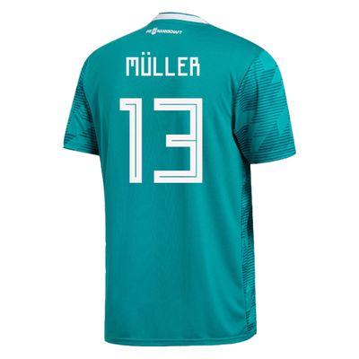 adidas DFB DEUTSCHLAND Trikot Away Kinder WM 2018 - MÜLLER 13 – Bild 2