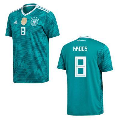 adidas DFB DEUTSCHLAND Trikot Away Kinder WM 2018 - KROOS 8 – Bild 1
