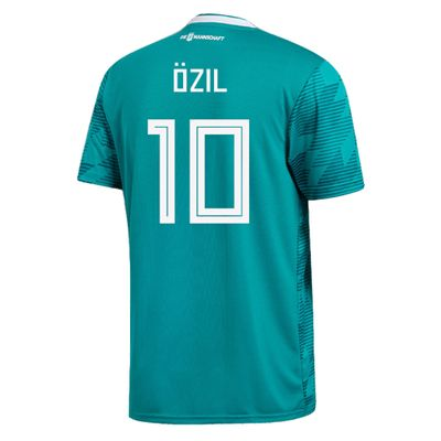 adidas DFB DEUTSCHLAND Trikot Away Kinder WM 2018 - ÖZIL 10 – Bild 2