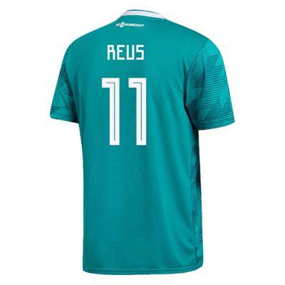 adidas DFB DEUTSCHLAND Trikot Away Kinder WM 2018 - REUS 11 – Bild 2