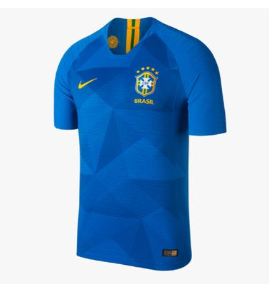 nike BRASILIEN Trikot Away Kinder WM 2018