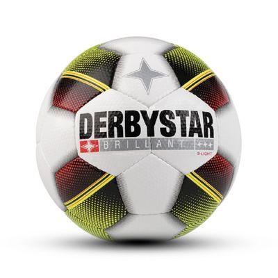 derbystar BRILLANT S-LIGHT Gr. 4 weiß-rot-gelb