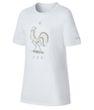 nike FRANKREICH Fan T-Shirt Kinder WM 2018 weiß 001