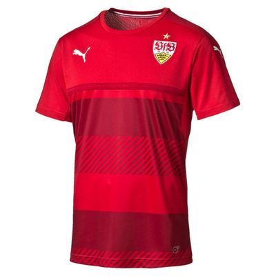 puma VFB TRAININGS T-Shirt Kinder rot