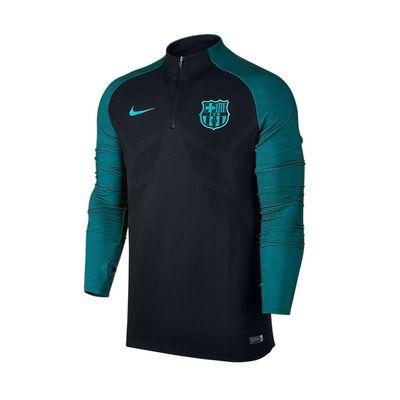 nike FC BARCELONA Trainingsshirt Herren langarm schwarz