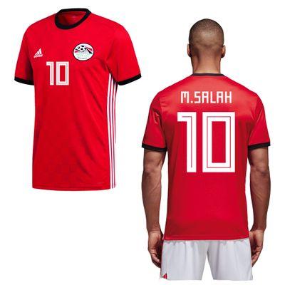 adidas Ägypten Trikot Home Herren WM 2018 - M. SALAH 10 – Bild 1