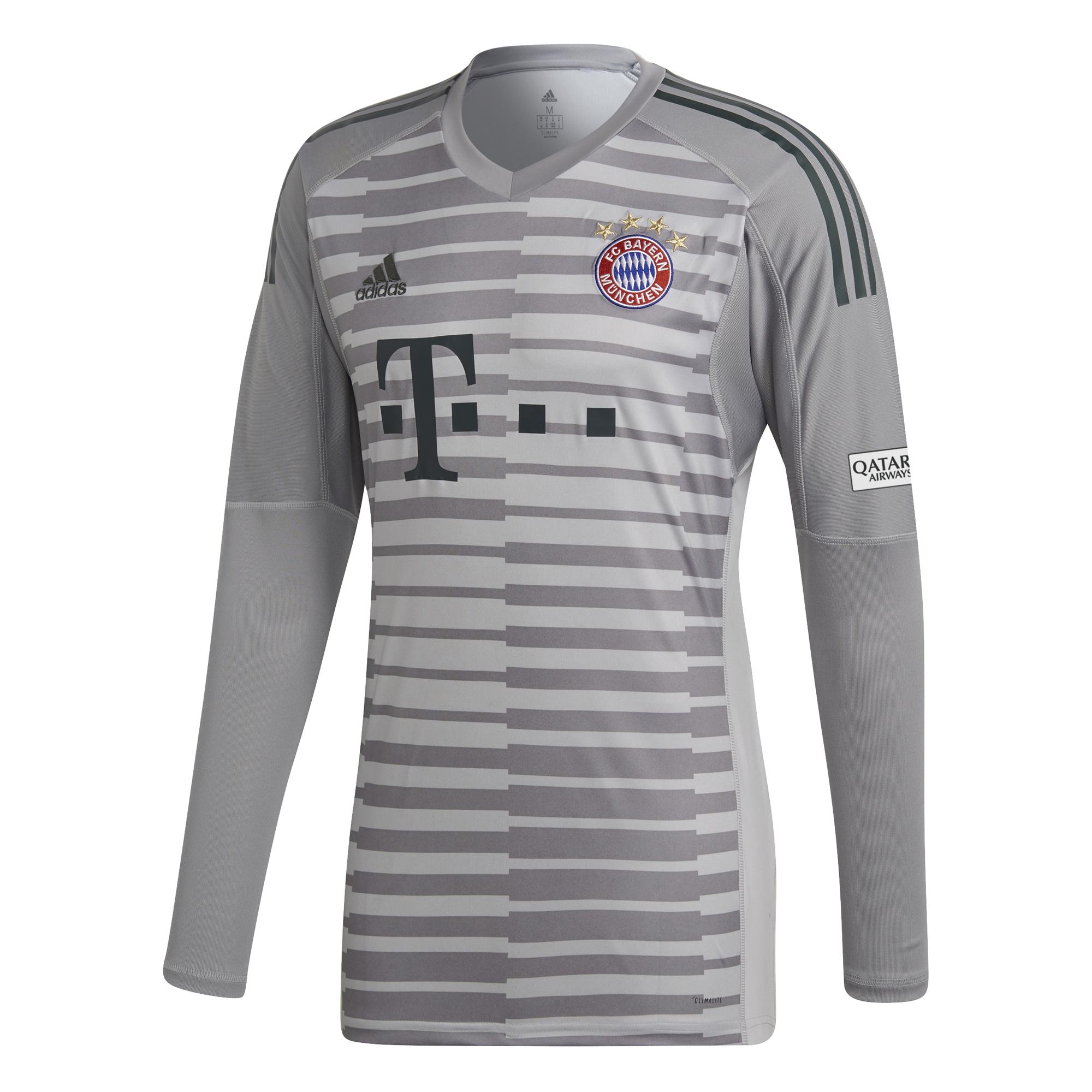 adidas FC Bayern München FCB Heim Torwart Trikot 2018 2019