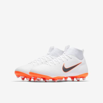 nike SUPERFLY 6 ACADEMY MG Kinder weiß