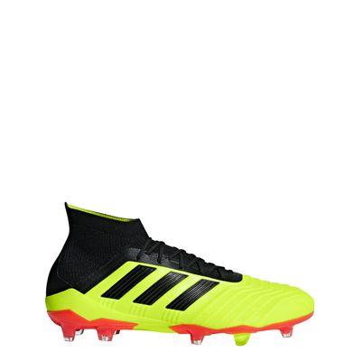 adidas PREDATOR 18.1 FG gelb-schwarz – Bild 1