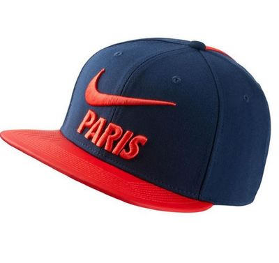 nike PSG PARIS SAINT-GERMAIN Cap blau-rot
